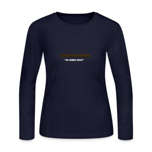 a quote - Women's Long Sleeve Jersey T-Shirt