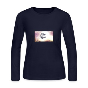 Praise The Lord T-Shirt - Women's Long Sleeve Jersey T-Shirt