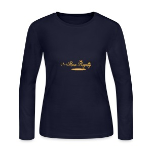 BornRoyalty Clothing Line - Women's Long Sleeve Jersey T-Shirt