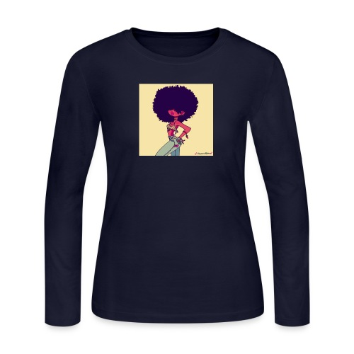 Fro Luv - Women's Long Sleeve Jersey T-Shirt