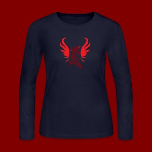 LiftCastTV Subdued - Women's Long Sleeve Jersey T-Shirt