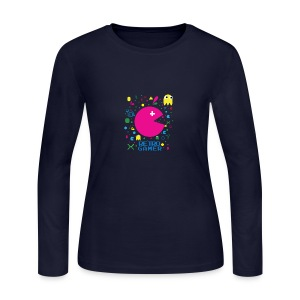 RETRO GAMER - Women's Long Sleeve Jersey T-Shirt