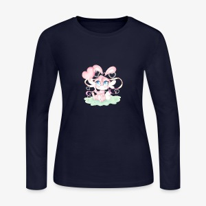 Cute lil bunny - Women's Long Sleeve Jersey T-Shirt
