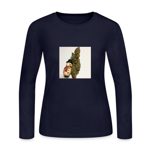Christmas Tree Nugget - Women's Long Sleeve Jersey T-Shirt