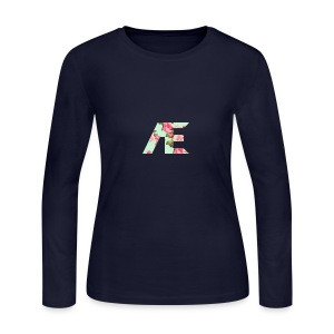 AE Floral design - Women's Long Sleeve Jersey T-Shirt