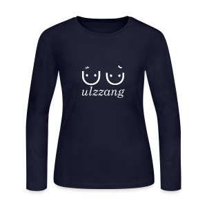 Ulzzang - Best Face - Women's Long Sleeve Jersey T-Shirt