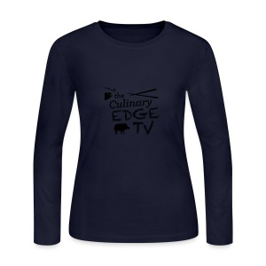CETV Black Signature - Women's Long Sleeve Jersey T-Shirt