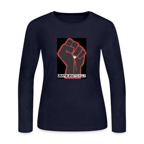 black fist - Women's Long Sleeve Jersey T-Shirt