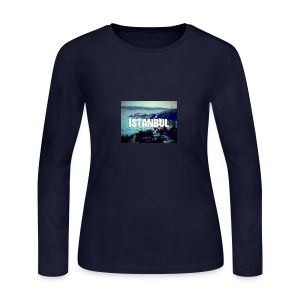 Istanbul Lovers - Women's Long Sleeve Jersey T-Shirt