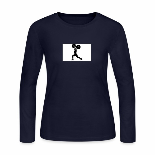 Weight lifters - Women's Long Sleeve Jersey T-Shirt