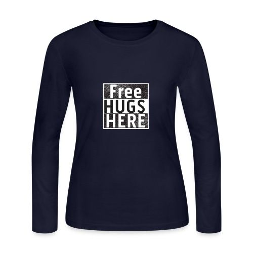 FREE HUGS - Women's Long Sleeve Jersey T-Shirt