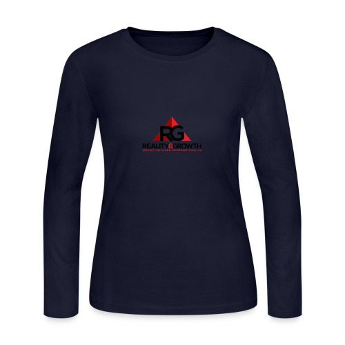REALITY&GROWTH - Women's Long Sleeve Jersey T-Shirt