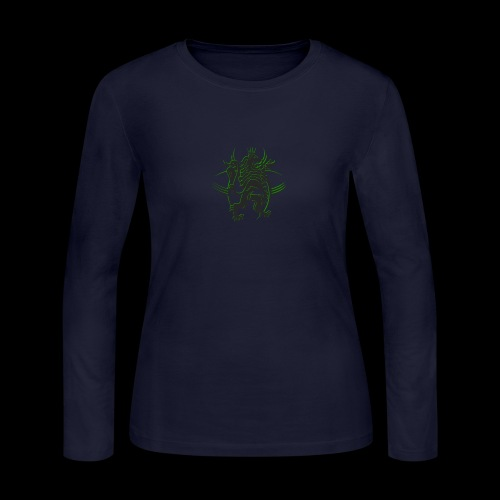 The AfrLoy logo - Women's Long Sleeve Jersey T-Shirt