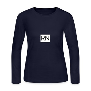 RN_Logo_small - Women's Long Sleeve Jersey T-Shirt