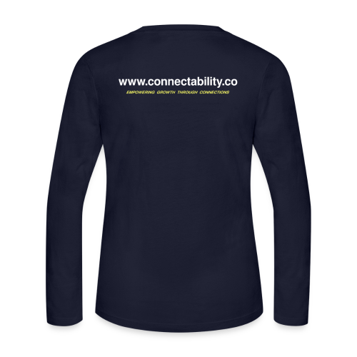 Connectability LLC Connections - Women's Long Sleeve Jersey T-Shirt