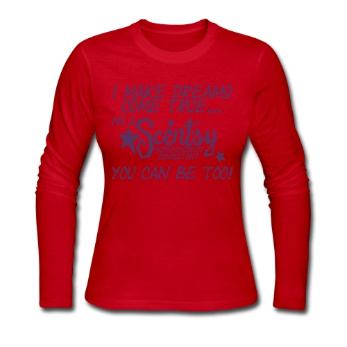 Scentsy makes dreams come true - Women's Long Sleeve Jersey T-Shirt