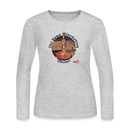 Carboy Grey Words - Women's Long Sleeve Jersey T-Shirt