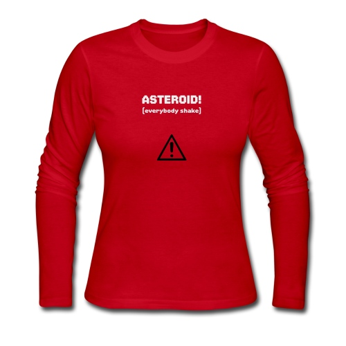 Spaceteam Asteroid! - Women's Long Sleeve Jersey T-Shirt