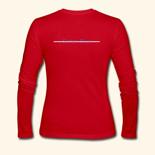 Sister Blue - Women's Long Sleeve Jersey T-Shirt