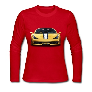 Ferrari 458 Speciale - Women's Long Sleeve Jersey T-Shirt