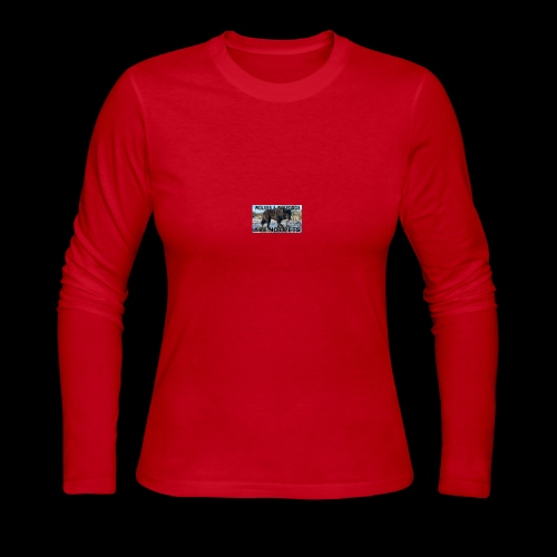 wolves and wolfdogs are not pets - Women's Long Sleeve Jersey T-Shirt