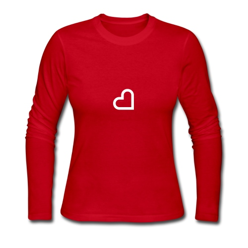 Minder Heart - Women's Long Sleeve Jersey T-Shirt