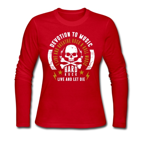 LIVE AND LET DIE - Women's Long Sleeve Jersey T-Shirt