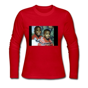 They Baby Photo - Women's Long Sleeve Jersey T-Shirt