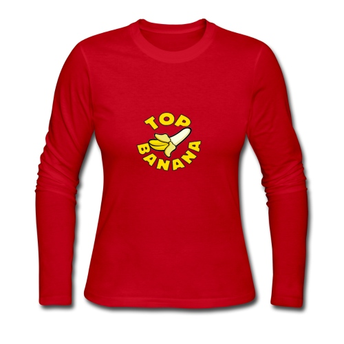 TOP BANANA - Women's Long Sleeve Jersey T-Shirt