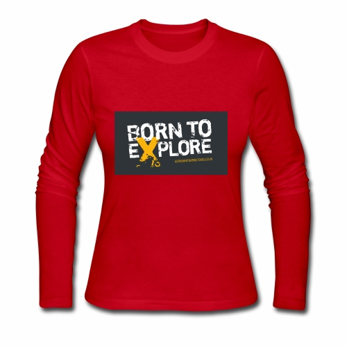 Born To Explore - Healthy Outfit - Women's Long Sleeve Jersey T-Shirt