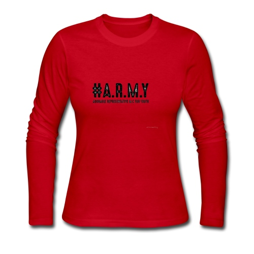 a - Women's Long Sleeve Jersey T-Shirt