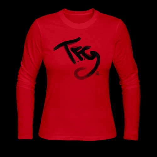 T.f.g Mide logo - Women's Long Sleeve Jersey T-Shirt
