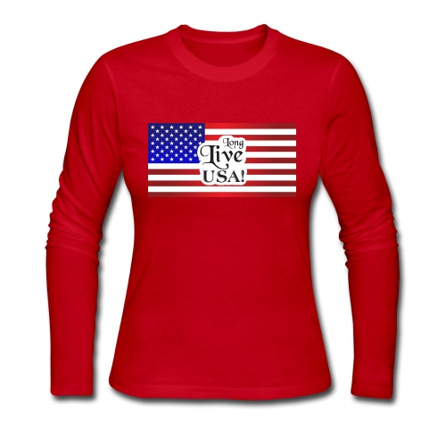 Americana Gear - Women's Long Sleeve Jersey T-Shirt