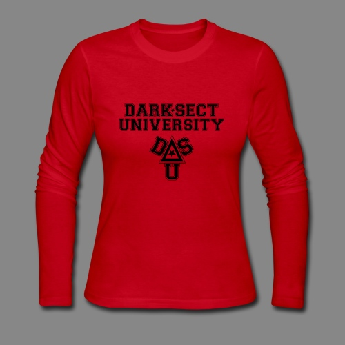 DARKSECT UNIVERSITY - Women's Long Sleeve Jersey T-Shirt