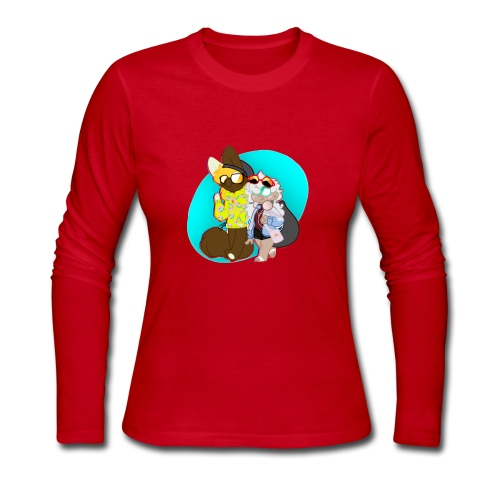 DONUT AND COFFEE - Women's Long Sleeve Jersey T-Shirt