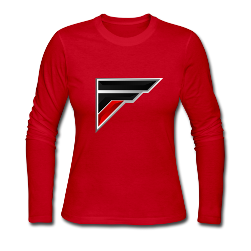 Flash Logo - Women's Long Sleeve Jersey T-Shirt
