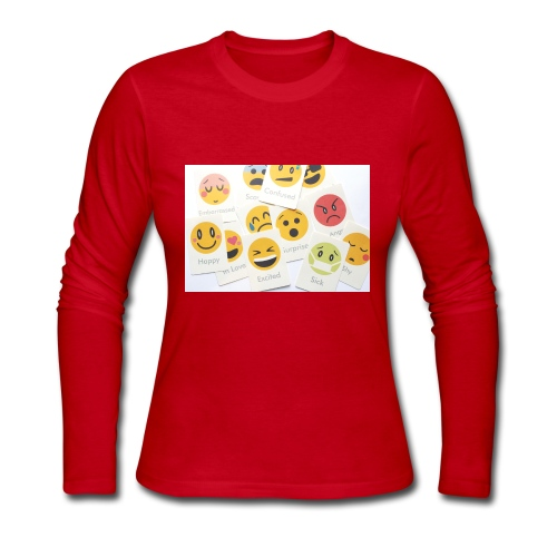 Emotions - Women's Long Sleeve Jersey T-Shirt