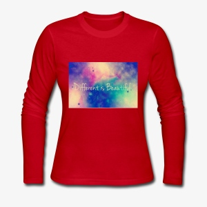 Different is beautiful - Women's Long Sleeve Jersey T-Shirt