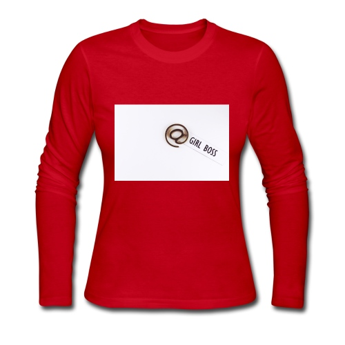 Girl Boss! - Women's Long Sleeve Jersey T-Shirt