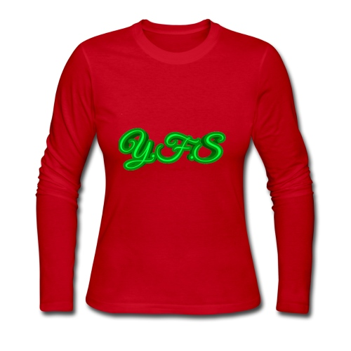 You F'n Stoner (Y.F.S) - Women's Long Sleeve Jersey T-Shirt