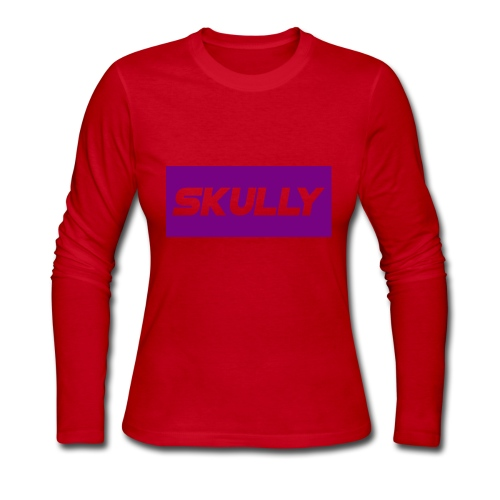 SKULLY MERCH - Women's Long Sleeve Jersey T-Shirt
