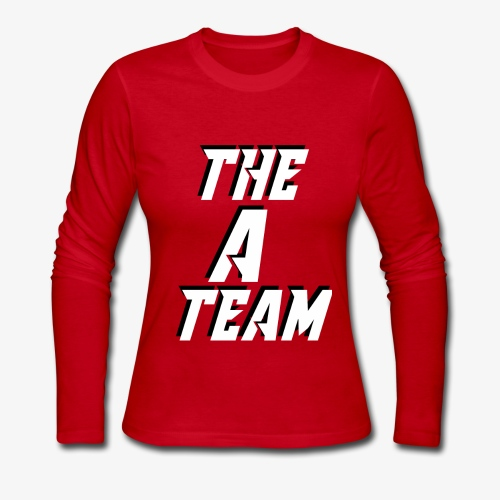 THE A TEAM - Women's Long Sleeve Jersey T-Shirt