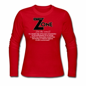 in the zone definition 1 - Women's Long Sleeve Jersey T-Shirt