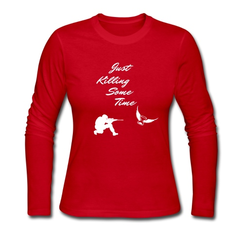 Just Killing Some Time - Women's Long Sleeve Jersey T-Shirt