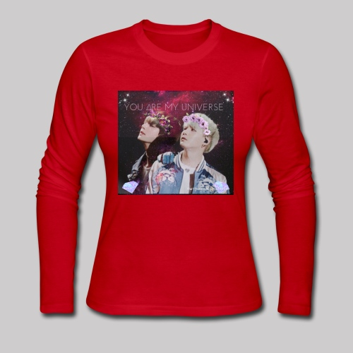 YoonTae - My Universe - Women's Long Sleeve Jersey T-Shirt