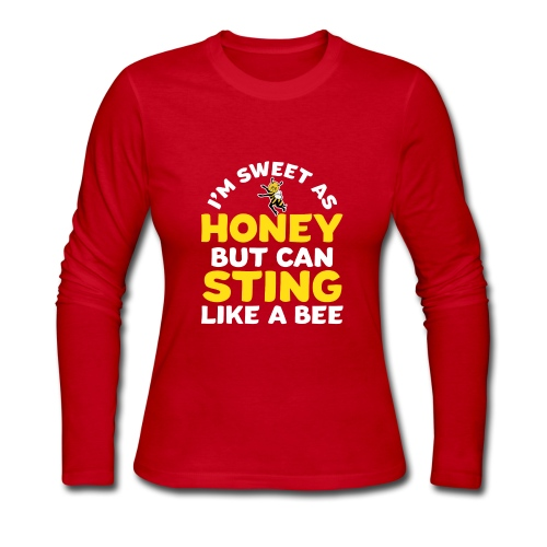 honeybee - Women's Long Sleeve Jersey T-Shirt