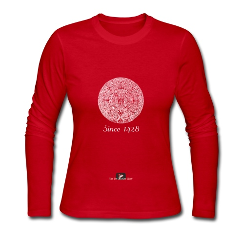 Since 1428 Aztec Design! - Women's Long Sleeve Jersey T-Shirt