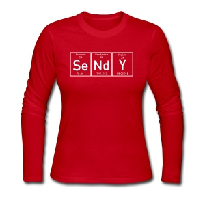 Sendy - Women's Long Sleeve Jersey T-Shirt