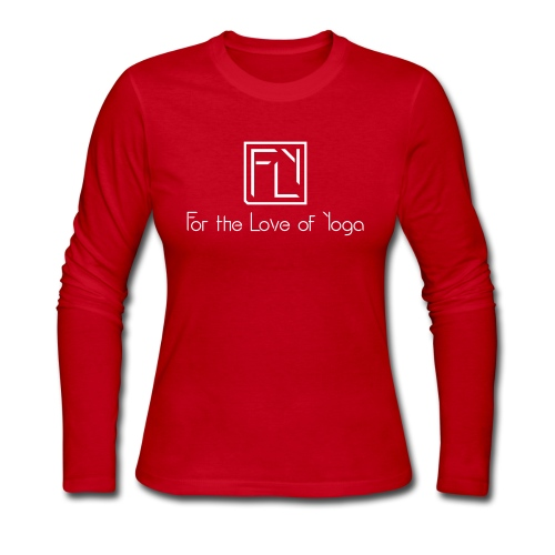 For the Love of Yoga - Women's Long Sleeve Jersey T-Shirt
