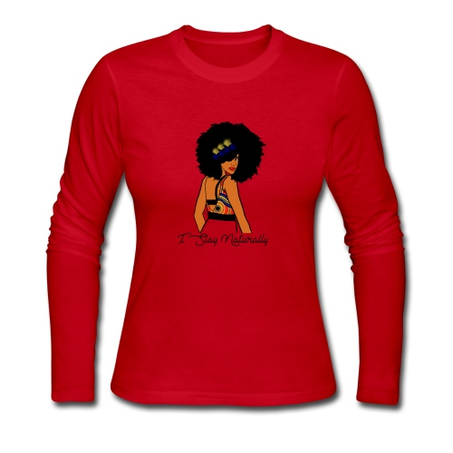 SlayNaturally - Women's Long Sleeve Jersey T-Shirt